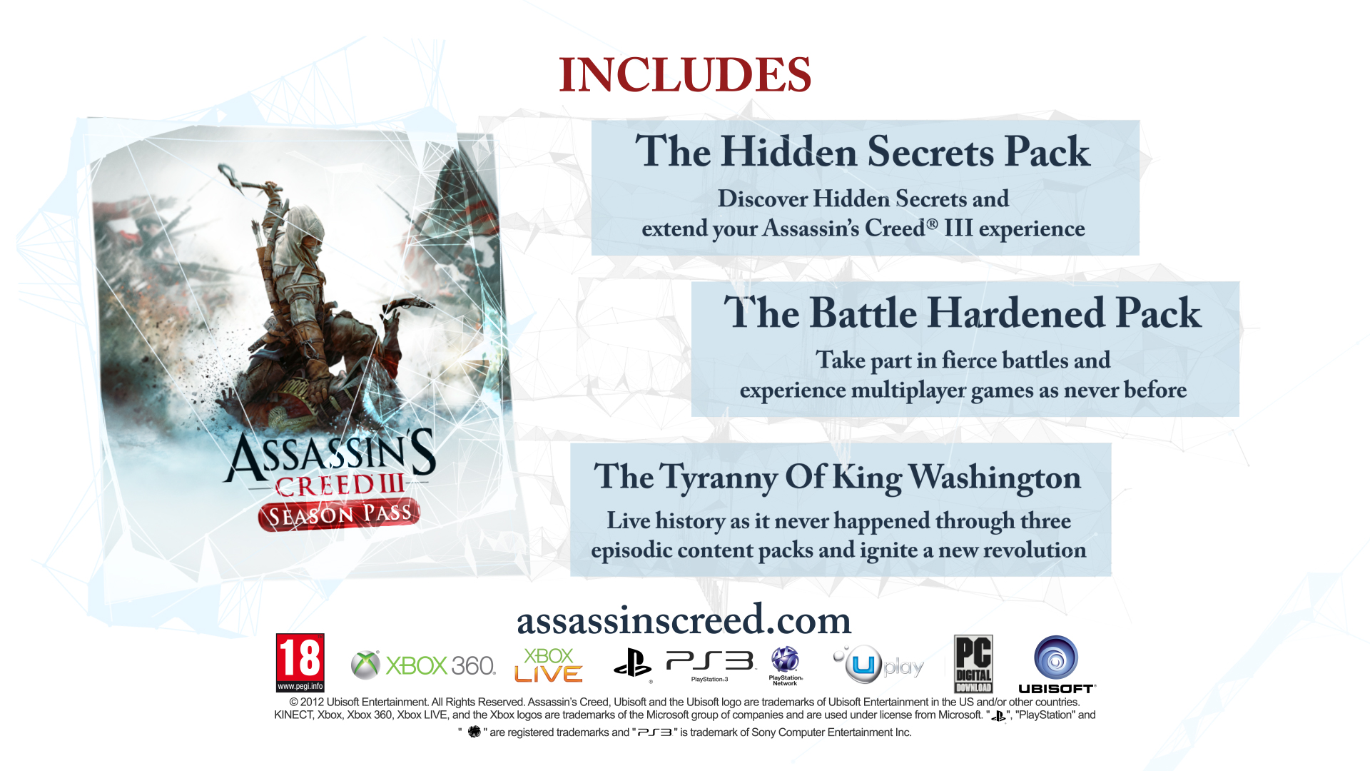Assassins creed 3 все dlc скачать